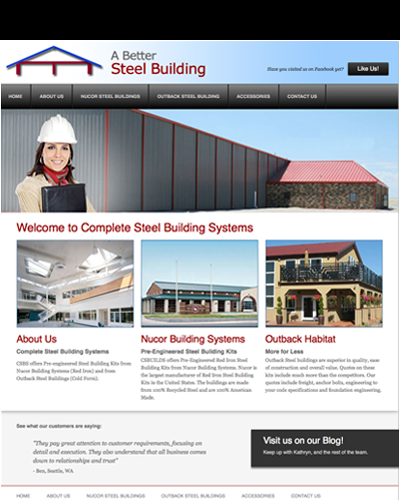 Complete Steel Building Systems